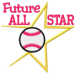 Future All-Star embroidery design