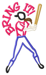 Bring It! embroidery design