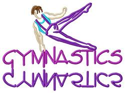 Gymnastics (Male) embroidery design