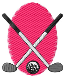 Golf Design embroidery design