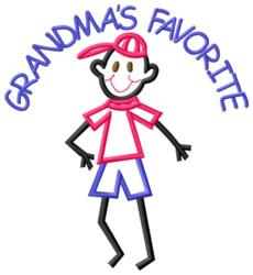 Grandmas Favorite embroidery design