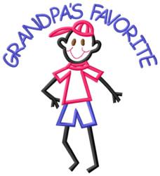 Grandpas Favorite embroidery design