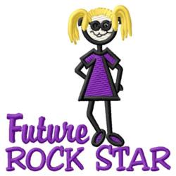 Future Rock Star embroidery design