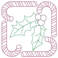 Sweet Holly embroidery design