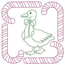 Sweet Goose embroidery design