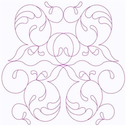 Swirls Galore embroidery design