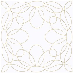 Swirl Of Daisies embroidery design