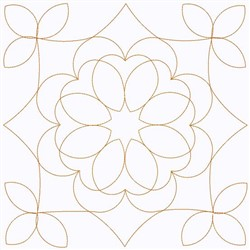 Flower Square embroidery design