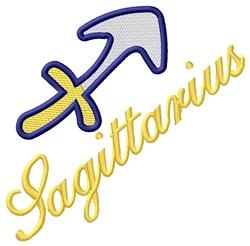 Sagittarius Zodiac embroidery design