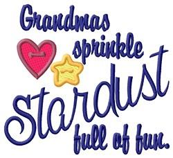 Grandmas Stardust embroidery design