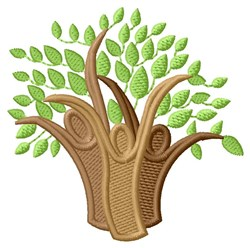 Family Trees embroidery design