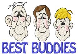 Best Buddies embroidery design