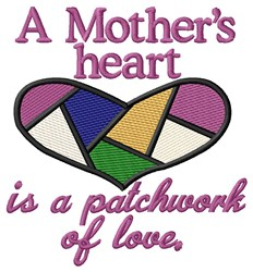Mothers Heart embroidery design