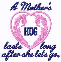 Mothers Hug embroidery design