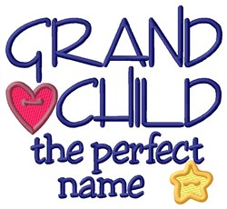 Perfect Name embroidery design