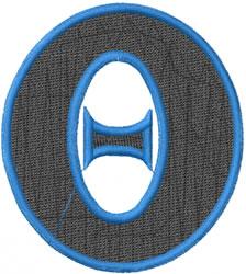 Toga Theta embroidery design