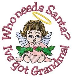 Ive Got Grandma embroidery design