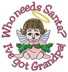Ive Got Grandpa embroidery design