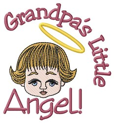 Grandpas Angel embroidery design