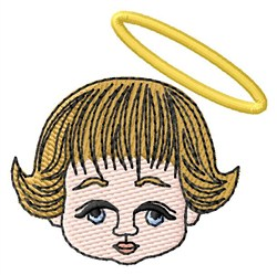 Angel Face embroidery design
