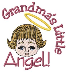 Grandmas Angel embroidery design