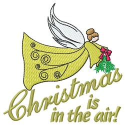 In the Air embroidery design