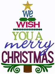Have A Merry Christmas embroidery design