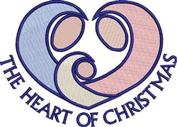 Heart Of Christmas embroidery design