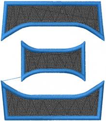 Toga Xi embroidery design