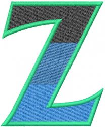 Toga Zeta embroidery design