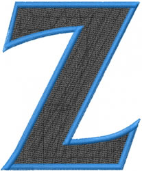 Toga Zeta embroidery design