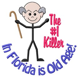 Old Age Killer embroidery design