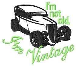 Im Vintage embroidery design
