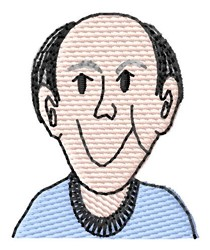 Man Face embroidery design