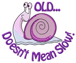 Means Slow embroidery design