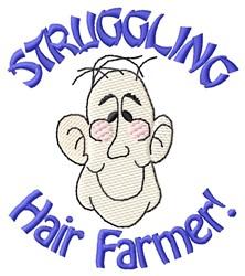 hair Farmer embroidery design