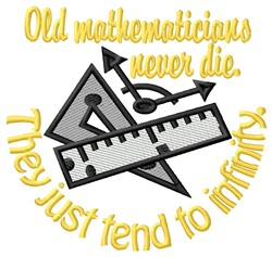 Old Mathematicians embroidery design