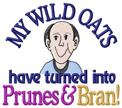 Man Prunes embroidery design