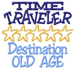 Time Traveler embroidery design