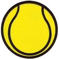 Tennis Ball Applique embroidery design