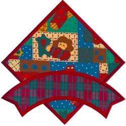 Banner on Diamond embroidery design