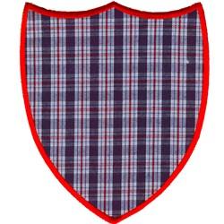 Plain Crest Applique embroidery design