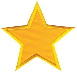 Star Applique embroidery design