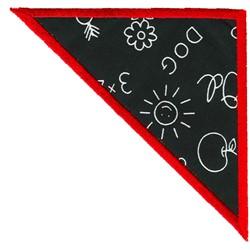 Triangle Applique embroidery design