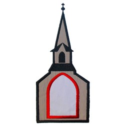 Chapel Applique embroidery design