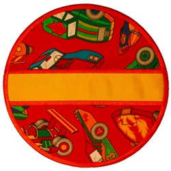 Split Circle Applique embroidery design
