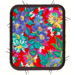 Large Patchwork Rectangle embroidery design