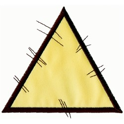 Patchwork Triangle Applique embroidery design