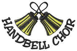 Handbell Choir embroidery design
