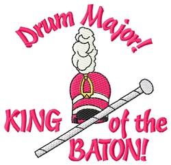 King Of Baton embroidery design
